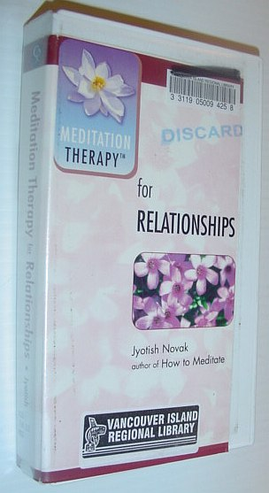Image for Mediation Therapy for Relationships - 37 Minute VHS Video Tape with Case