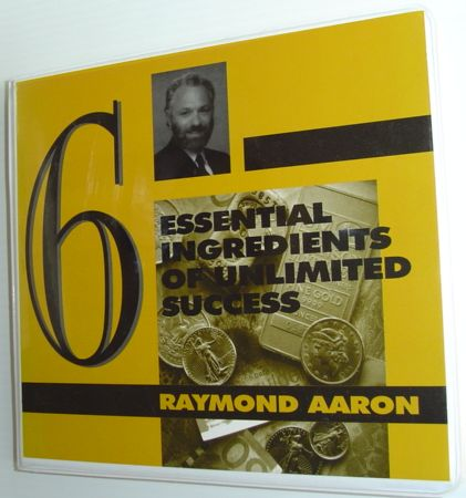 Image for Six (6) Essential Ingredients of Unlimited Success: Complete 6 Cassette Tape Set in Case