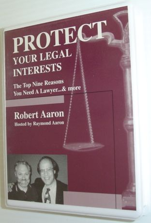 Image for Protect Your Legal Interests - Complete 2 Cassette Tape Set in Case