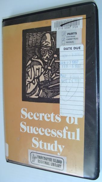 Image for Secrets of Successful Study (S17050)