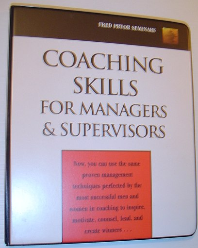 Image for Coaching Skills for Managers and Supervisors: 6 Audio Cassette Tape Set in Case
