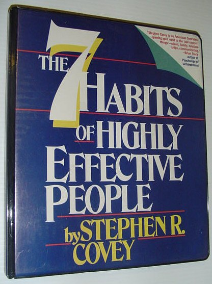 Image for The 7 (Seven) Habits of Highly Effective People: Six Audio Cassette Tapes in Case