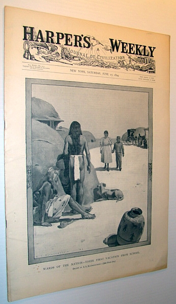 Image for Harper's Weekly (Magazine) - A Journal of Civilization, Saturday, June 17, 1899 - The Proposed Nicaragua Canal