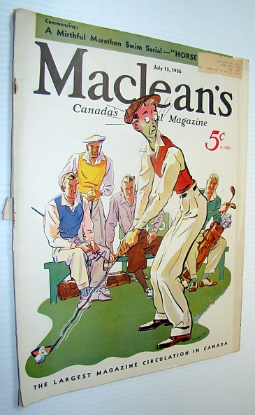 Image for Maclean's - Canada's National Magazine, 15 July 1936 - Revolt in Quebec