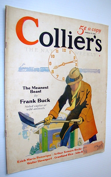 Image for Collier's Magazine - The National Weekly: January 17, 1931 - Boies Penrose