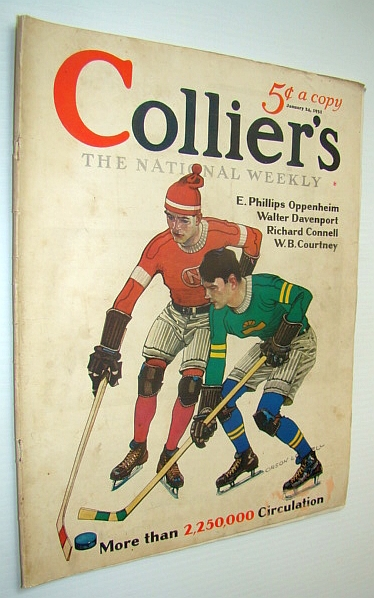 Image for Collier's Magazine - The National Weekly: January 24, 1931 - Captain Thomas P. Quinn of Seattle / Harvard Football Captain William Barry Wood