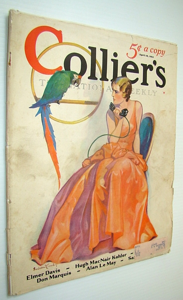 Image for Collier's Magazine - The National Weekly: 18 April, 1931 - 14,000 Miles Through Russia Without a Guide