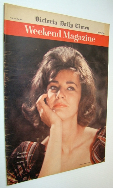 Image for Weekend Magazine, Vol. 12, No. 50 - December 15, 1962 - Toronto's Gaslight Girls - Robin Saloum Cover Photo