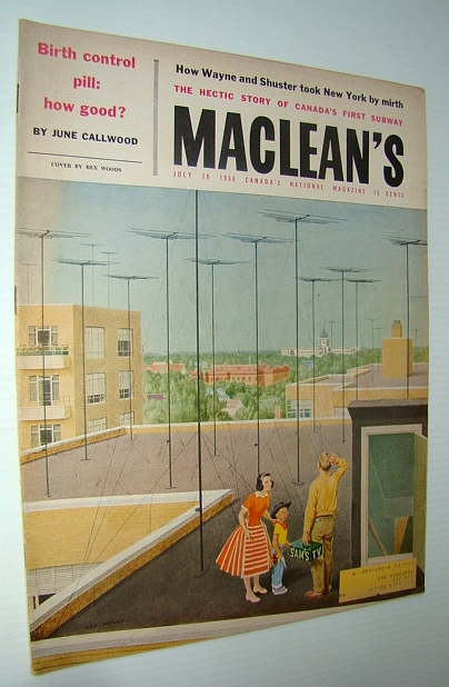 Image for Maclean's - Canada's National Magazine, July 19, 1958 - The Hectic Story of Canada's First Subway / Calgary's Eighth Avenue
