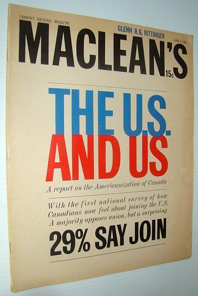 Image for Maclean's - Canada's National Magazine, June 6, 1964 - CUSO