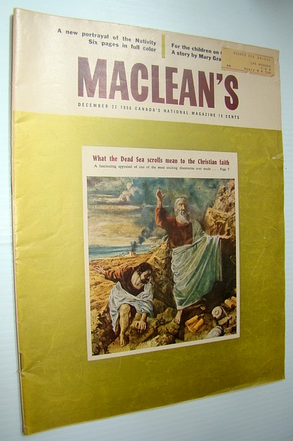 Image for Maclean's - Canada's National Magazine, December 22, 1956 - Brooks, Alberta - The West's Happiest Hunting Ground