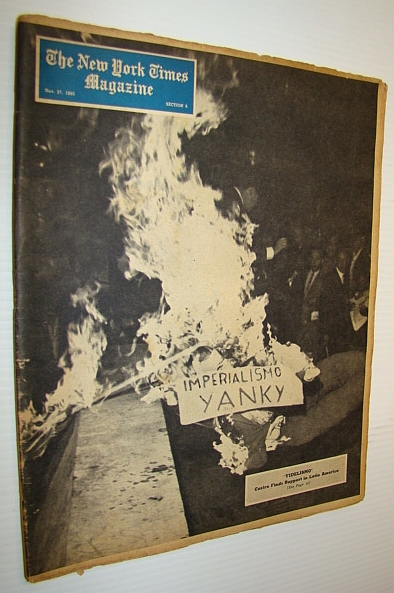 Image for The New York Times Magazine, November 27, 1960 - Castro Finds Support in Latin America