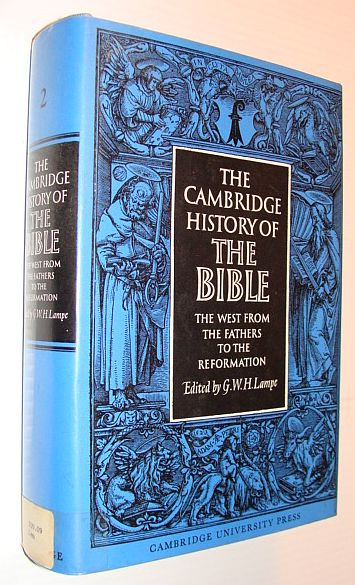 Image for The Cambridge History of the Bible: Volume 2, The West from the Fathers to the Reformation