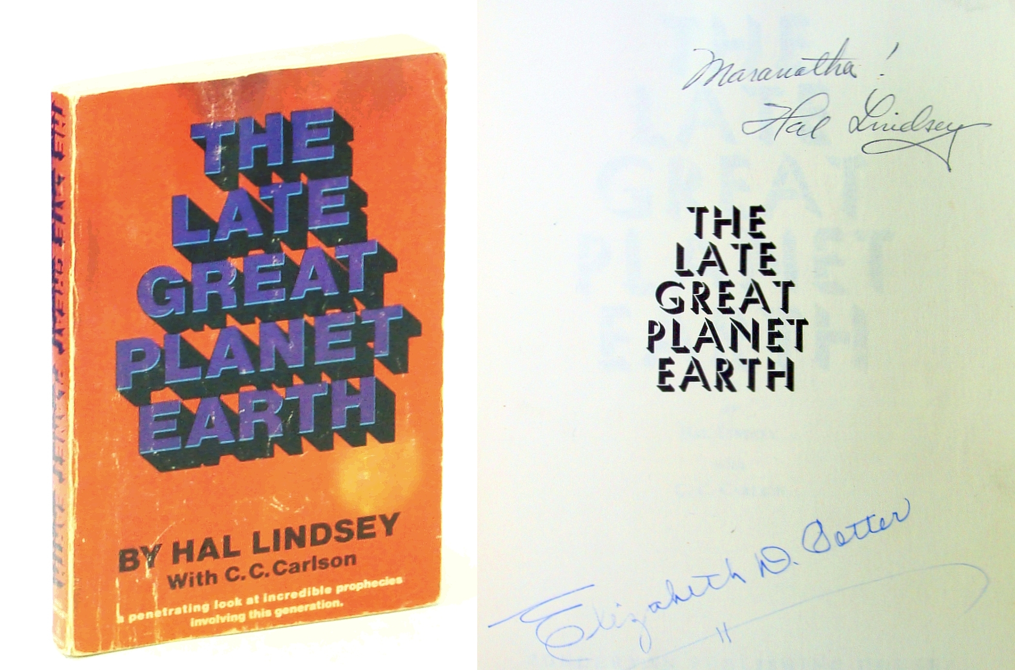 Image for Late Great Planet Earth by Hal Lindsey (1970-06-03)