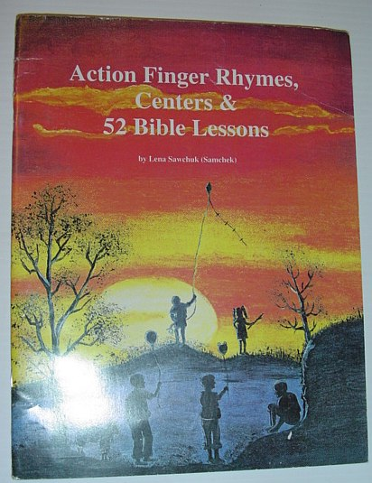 Image for Action Finger Rhymes, Centers & 52 Bible Lessons