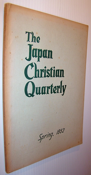 Image for The Japan Christian Quarterly - Spring 1952