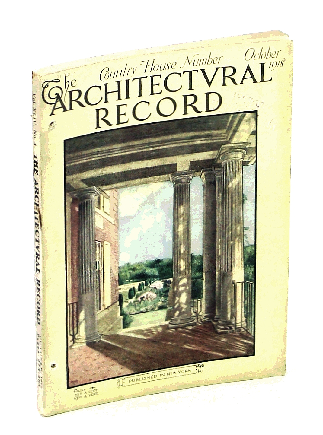 Image for The Architectural Record, October [Oct.] 1918, Vol. XLIV, No. 4, Serial No. 241 - The American Country House