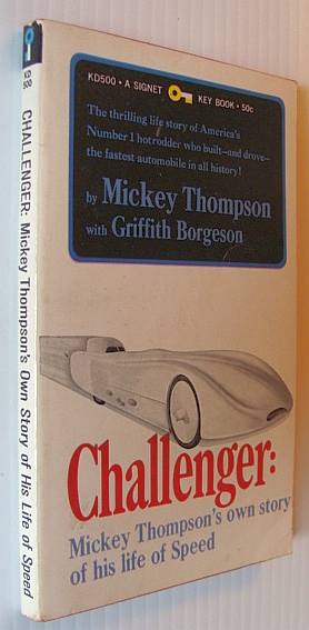 Image for Challenger: Mickey Thompson's Own Story of His Life of Speed