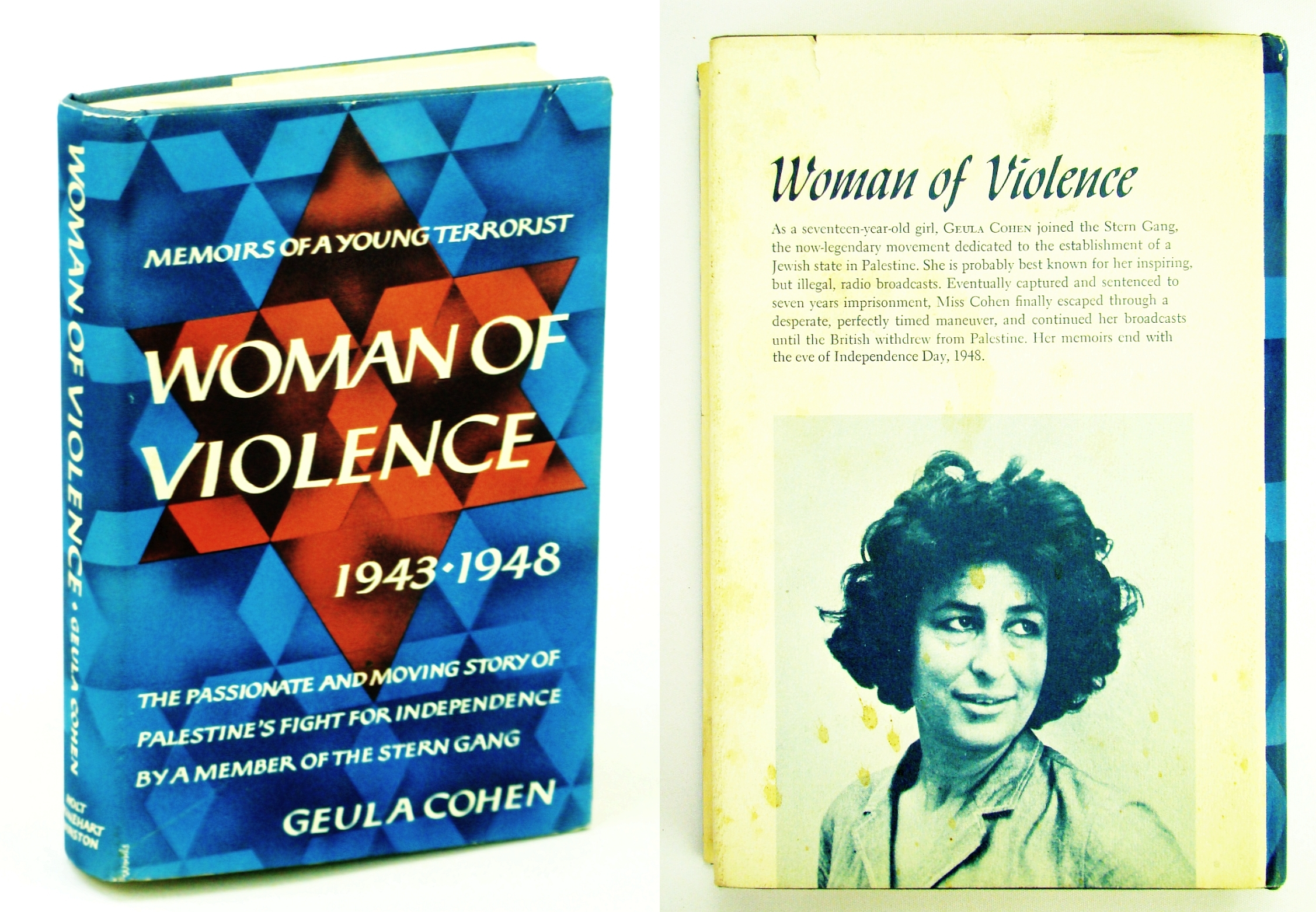 Image for Woman of Violence: Memoirs of a Young Terrorist, 1943-1948