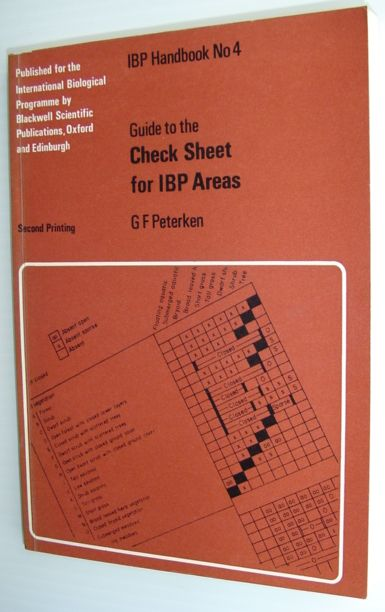 Image for Guide to the Check Sheet for I.B.P.Areas (International Biology)