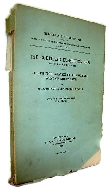 Image for The Godthaab Expedition 1928 - The Phytoplankton of the Waters West of Greenland
