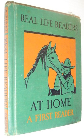Image for At Home - A First Reader - Real Life Readers