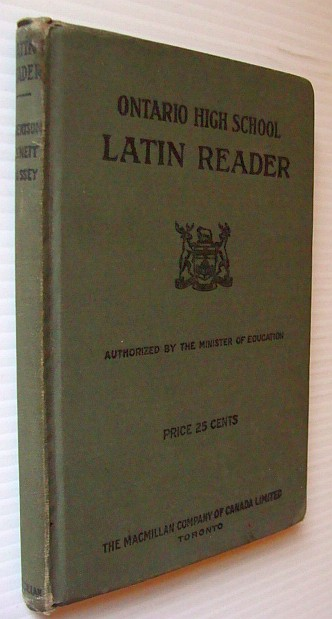Image for Ontario High School Latin Reader