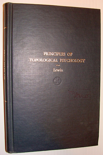 Image for Principles of Topological Psychology - McGraw-Hill Publications in Psychology