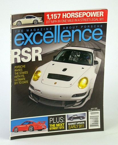 Image for EXCELLENCE THE MAGAZINE ABOUT PORSCHE May 2009 No. 173 (RSR, Sport Cars, Automobiles)