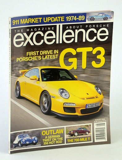 Image for The Magazine About Porsche Excellence August 2009