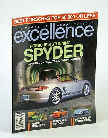 Image for Excellence - The Magazine About Porsche, May 2010 - The Stunning Spyder