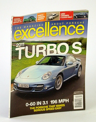 Image for The Magazine About Porsche Excellence Magazine (2011 Turbos, December 2010)