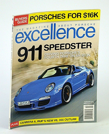 Image for Excellence - The Magazine About Porsche, February  2011 -  911 Speedster