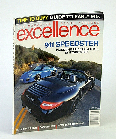 Image for Excellence - The Magazine About Porsche, May  2011 -  Guide to Early 911s