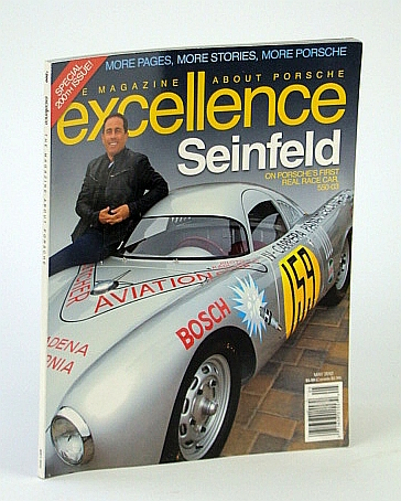 Image for Excellence - The Magazine About Porsche, May 2012 - Jerry Seinfeld Cover Photo