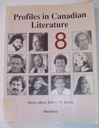 Image for Profiles in Canadian Literature 8: Volume 8 (v. 8)