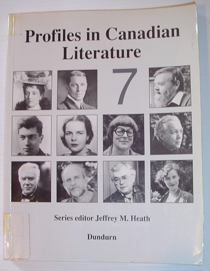 Image for Profiles in Canadian Literature 7: Volume 7