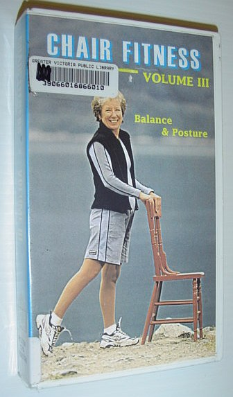Image for Chair Fitness - Volume III (3) - Balance and Posture: 32 Minute VHS Videotape with Case