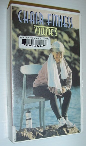 Image for Chair Fitness - Volume II (2): 60 Minute VHS Video Tape with Case