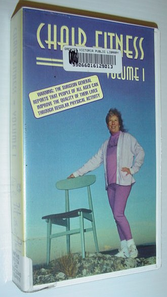 Image for Chair Fitness - Volume 1 (One): 22 Minute VHS Video Tape with Case