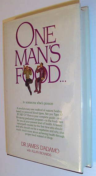 Image for One Man's Food... is Someone Else's Poison