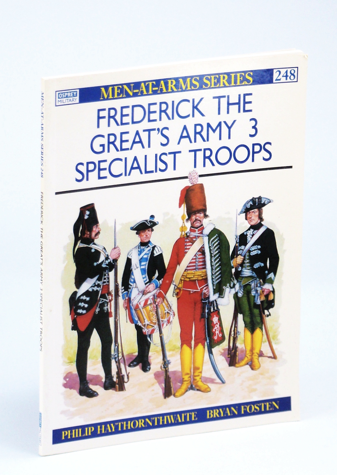 Image for Frederick the Great's Army (3): Specialist Troops (Men-at-Arms)