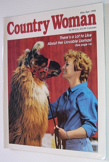 Image for Country Woman Magazine: March/April 1998
