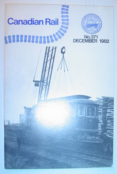 Image for Canadian Rail, Number 371, December (Dec.) 1982