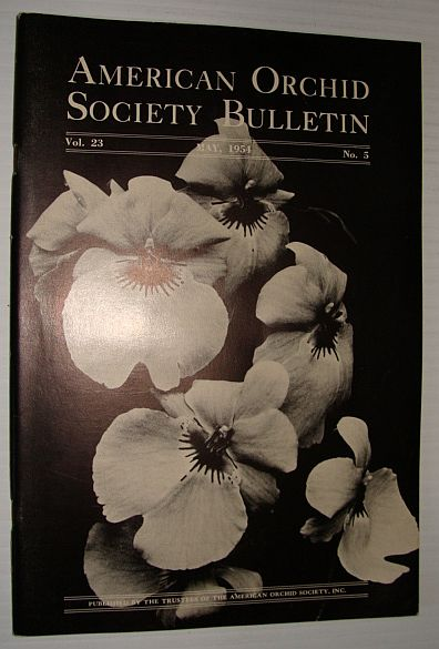 Image for American Orchid Society Bulletin Vol. 23 May, 1954 No. 5