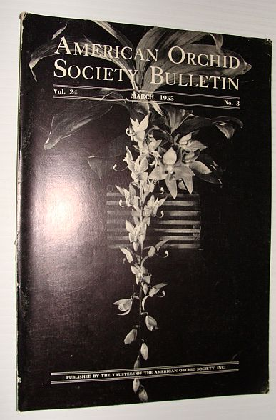 Image for American Orchid Society Bulletin Vol. 24 March, 1955 No. 3