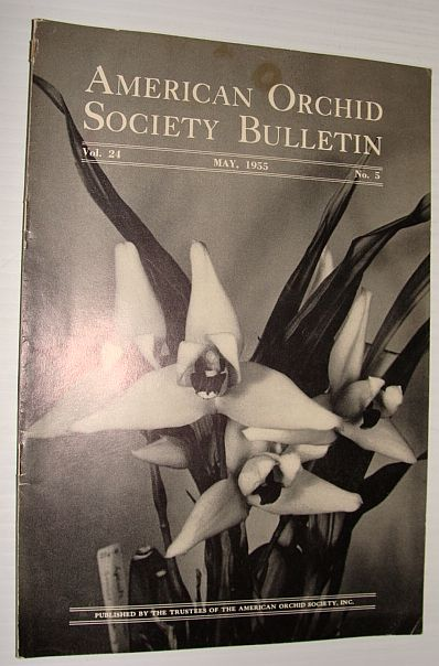 Image for American Orchid Society Bulletin Vol. 24 May, 1955 No. 5