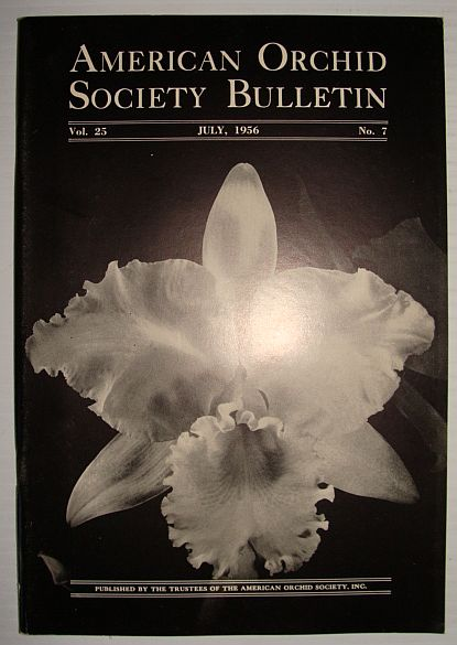 Image for American Orchid Society Bulletin Vol. 25 July, 1956 No. 7