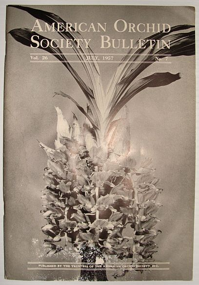 Image for American Orchid Society Bulletin Vol. 26 July, 1957 No. 7
