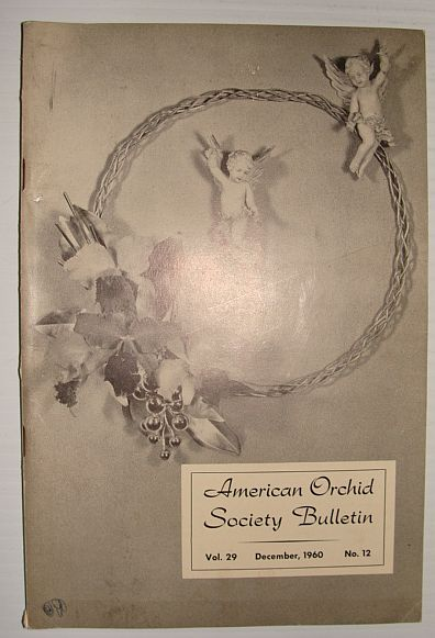 Image for American Orchid Society Bulletin Vol. 29 December, 1960 No. 12